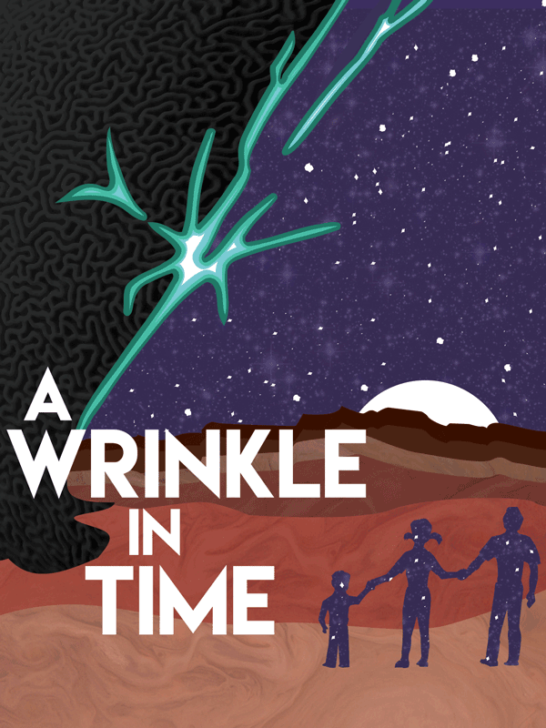 Poster image for A Wrinkle In Time, illustration by Tony Dingman