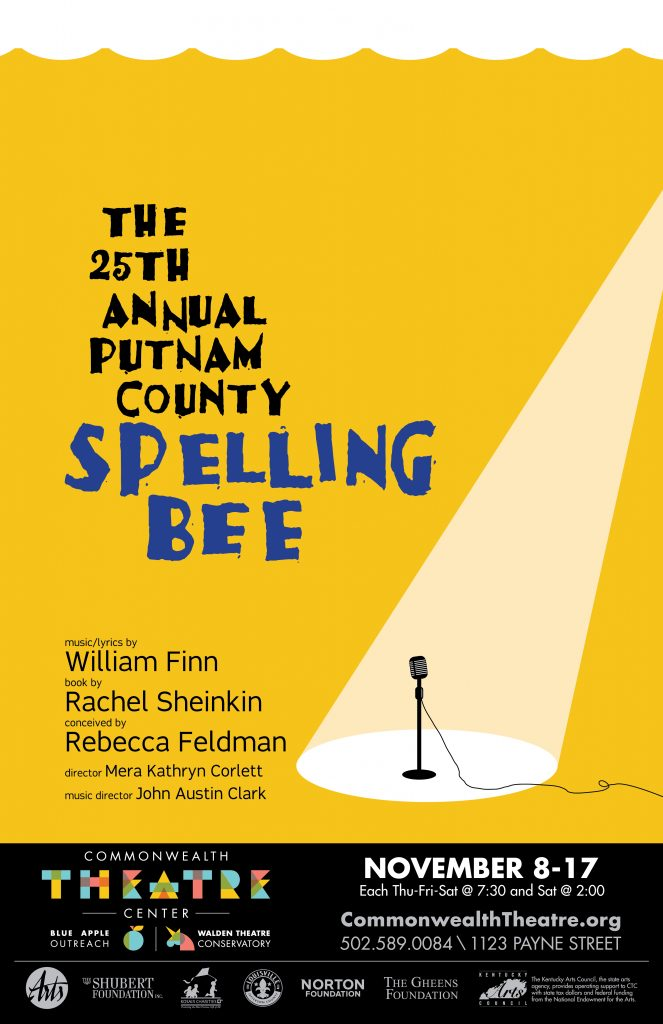 Commonwealth Theatre Center Spelling Bee poster-final