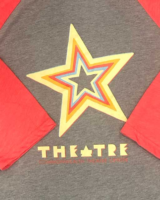 Star-Raglan-Red